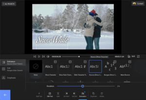 Adding text to videos made easy with Flixier